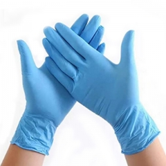 China factory manufacturing production disposable protective gloves