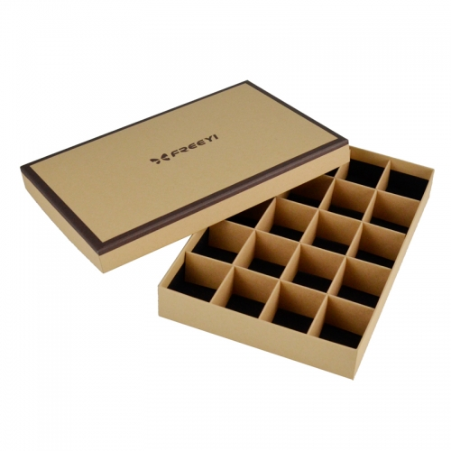 Kraft paper chocolate gift box