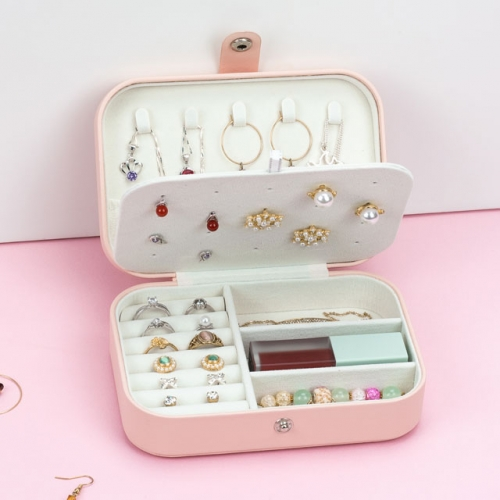 Earrings travel jewelry box